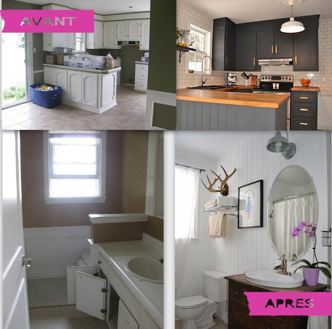 Renovation cuisine salle bains accueil design et mobilier for Prix renovation salle de bain complete