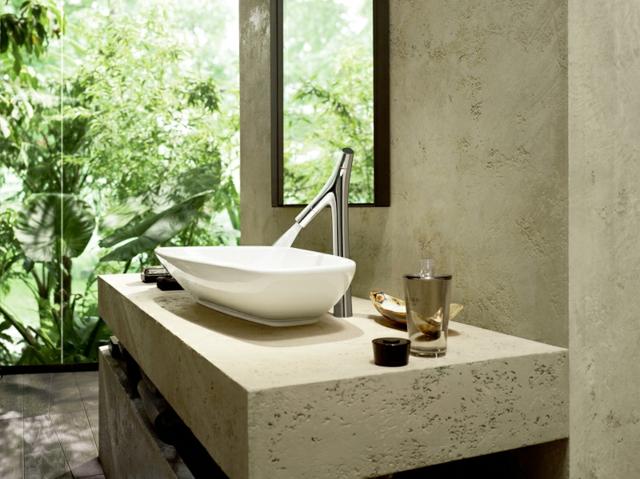Am nagement salle de bain version luxe design feria for Amenagement salle de bain original