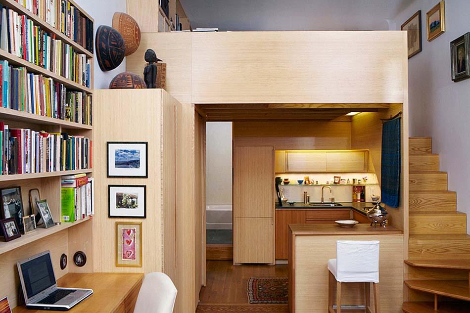 Petit appartement 10 solutions afin de mieux g rer une for Astuce petit appartement