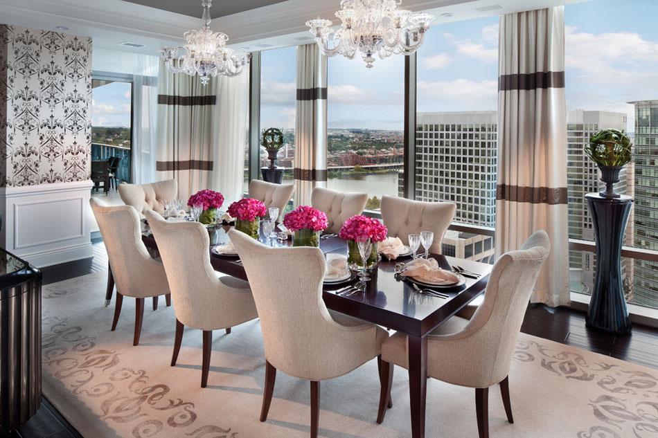chaises design devenues le bijou dco dans lameublement dune salle manger lgante design feria - Chaises Design Salle A Manger