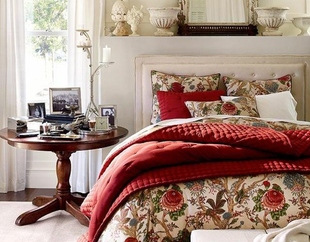 d co chambre inspir e par no l design feria. Black Bedroom Furniture Sets. Home Design Ideas