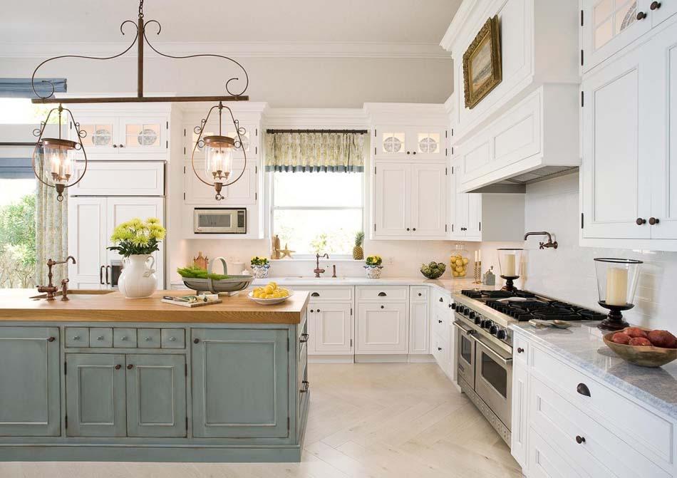 Couleurs agr able pour une cuisine d co moderne et for Cuisine deux couleurs