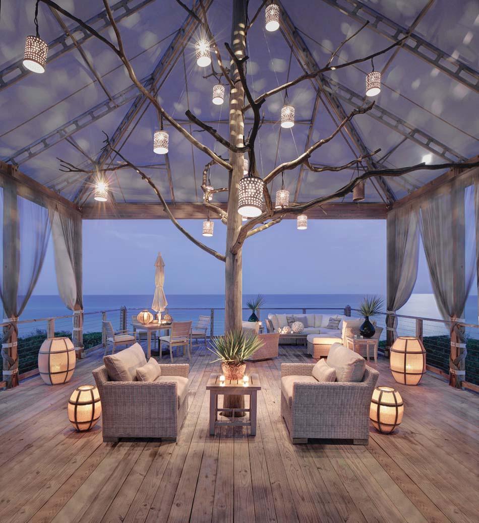 Amenagement Exterieur Terrasse Maison idée aménagement extérieur afin de créer une ambiance de