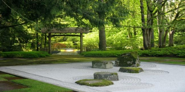 le jardin zen le petit bijou de la sagesse exotique. Black Bedroom Furniture Sets. Home Design Ideas