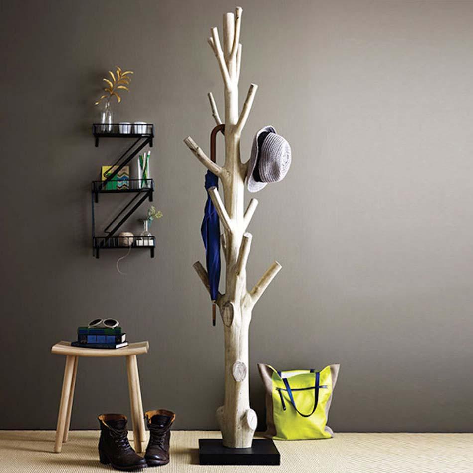 le porte manteau design arbre un classique dans l. Black Bedroom Furniture Sets. Home Design Ideas