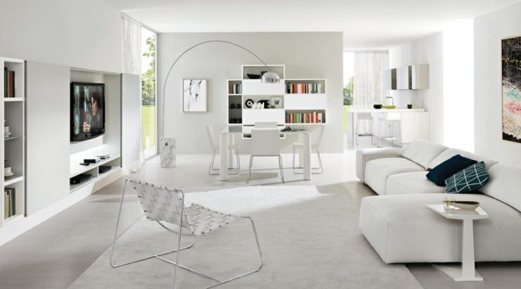 Un design italien pour un s jour contemporain l gant for Progetti di interni case moderne