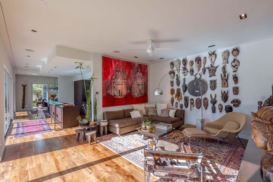 Le tableau d co embellit les murs et transforme l ambiance for Architecture eclectique