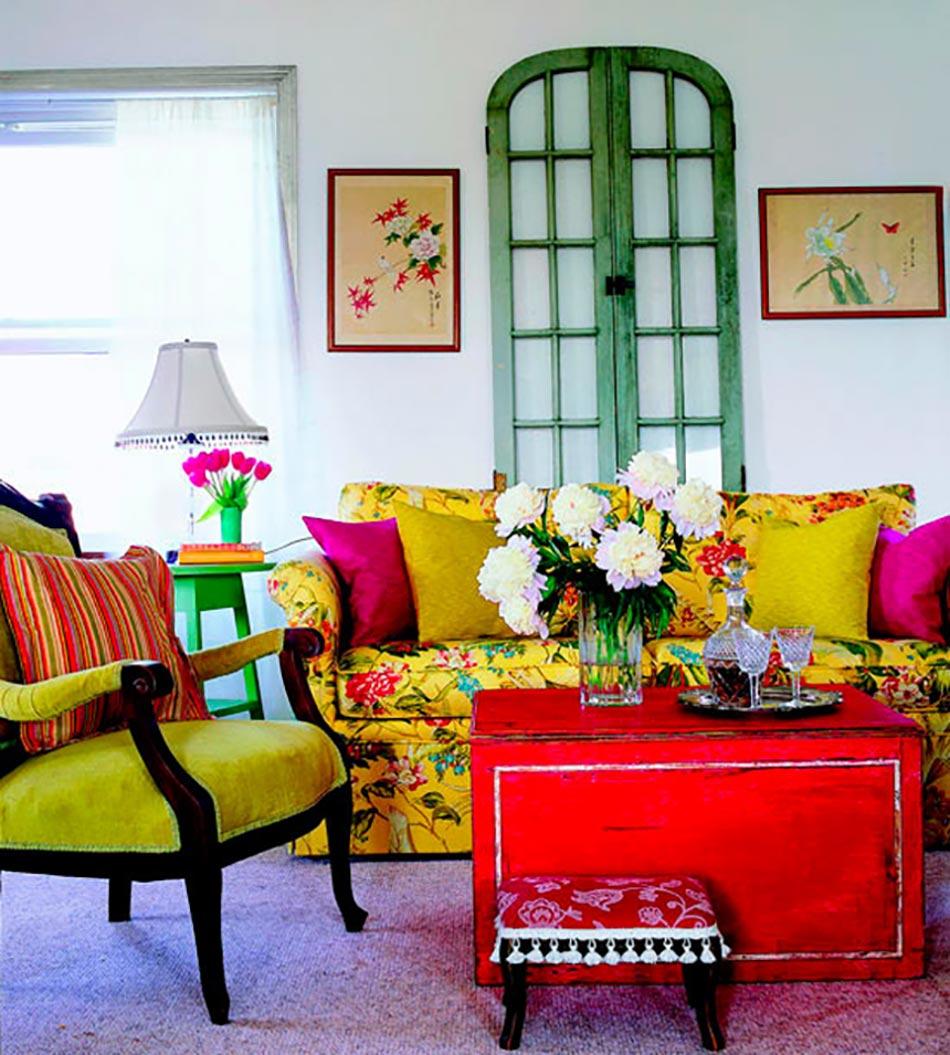 Idée déco pour ambiance explosion des couleurs | Design Feria