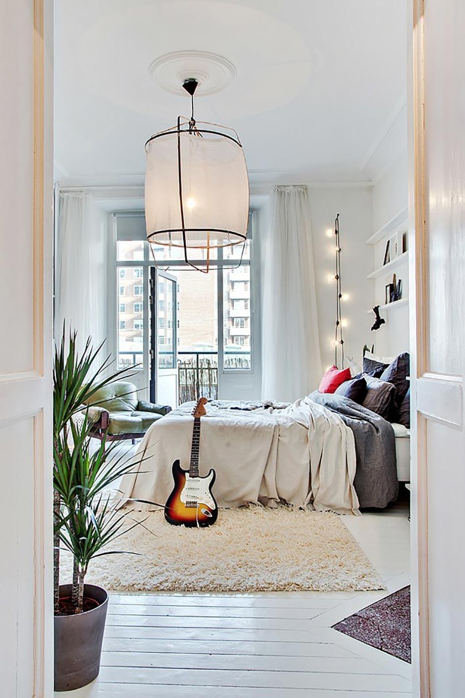Une d coration d int rieur inspir e par la musique for Decoration interieure chambre a coucher