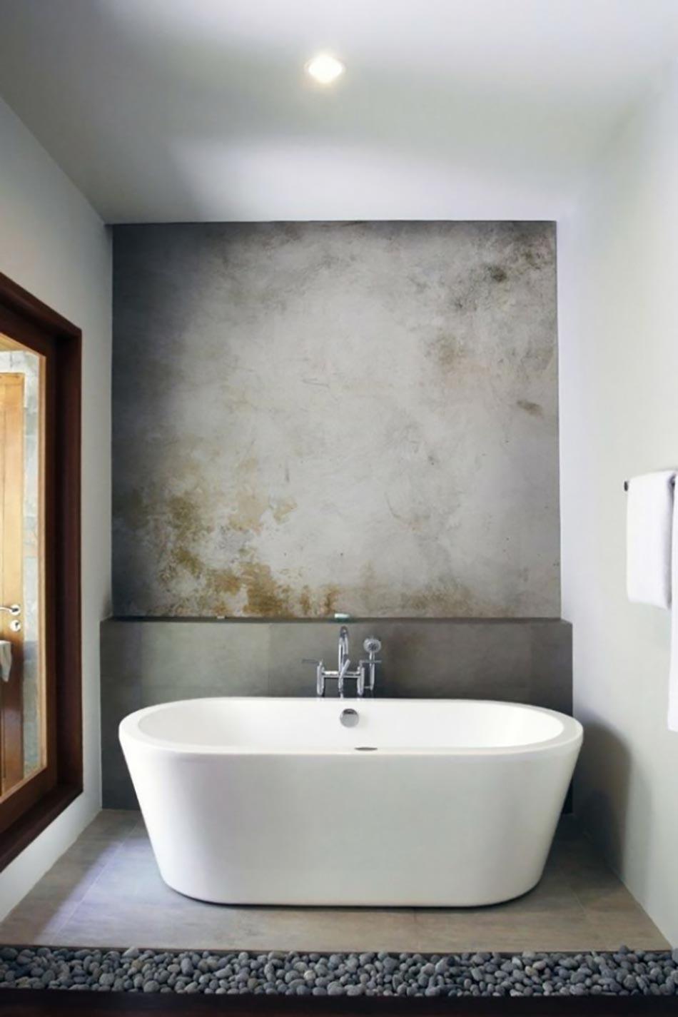 16 id es b ton pour des salles de bain design. Black Bedroom Furniture Sets. Home Design Ideas