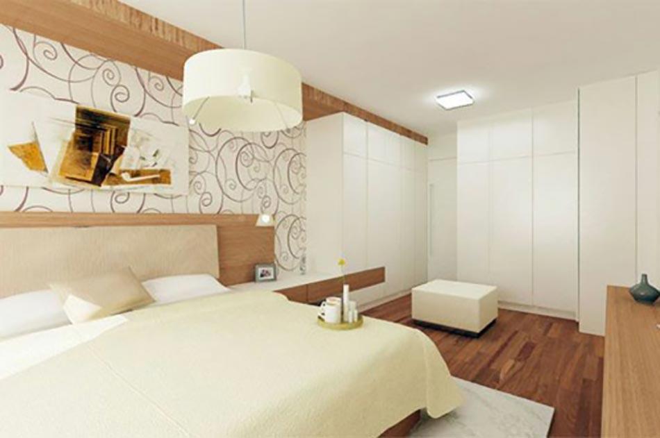 10 conceptions de chambres coucher voir et revoir - Chambre a coucher blanc design ...