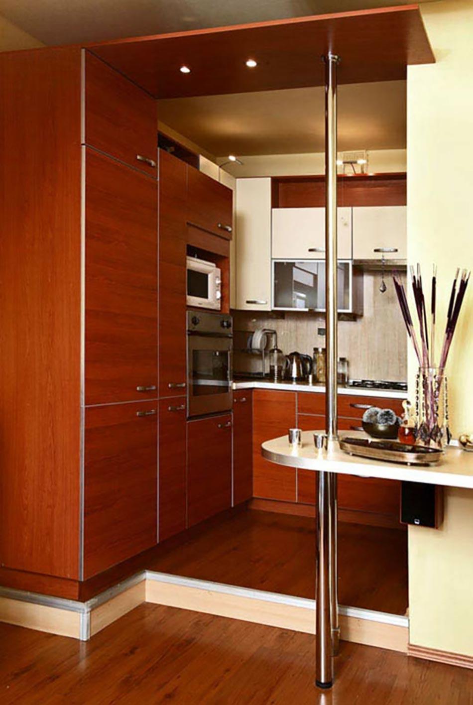 La kitchenette moderne quip e et sur optimis e for Cuisine equipee ou amenagee