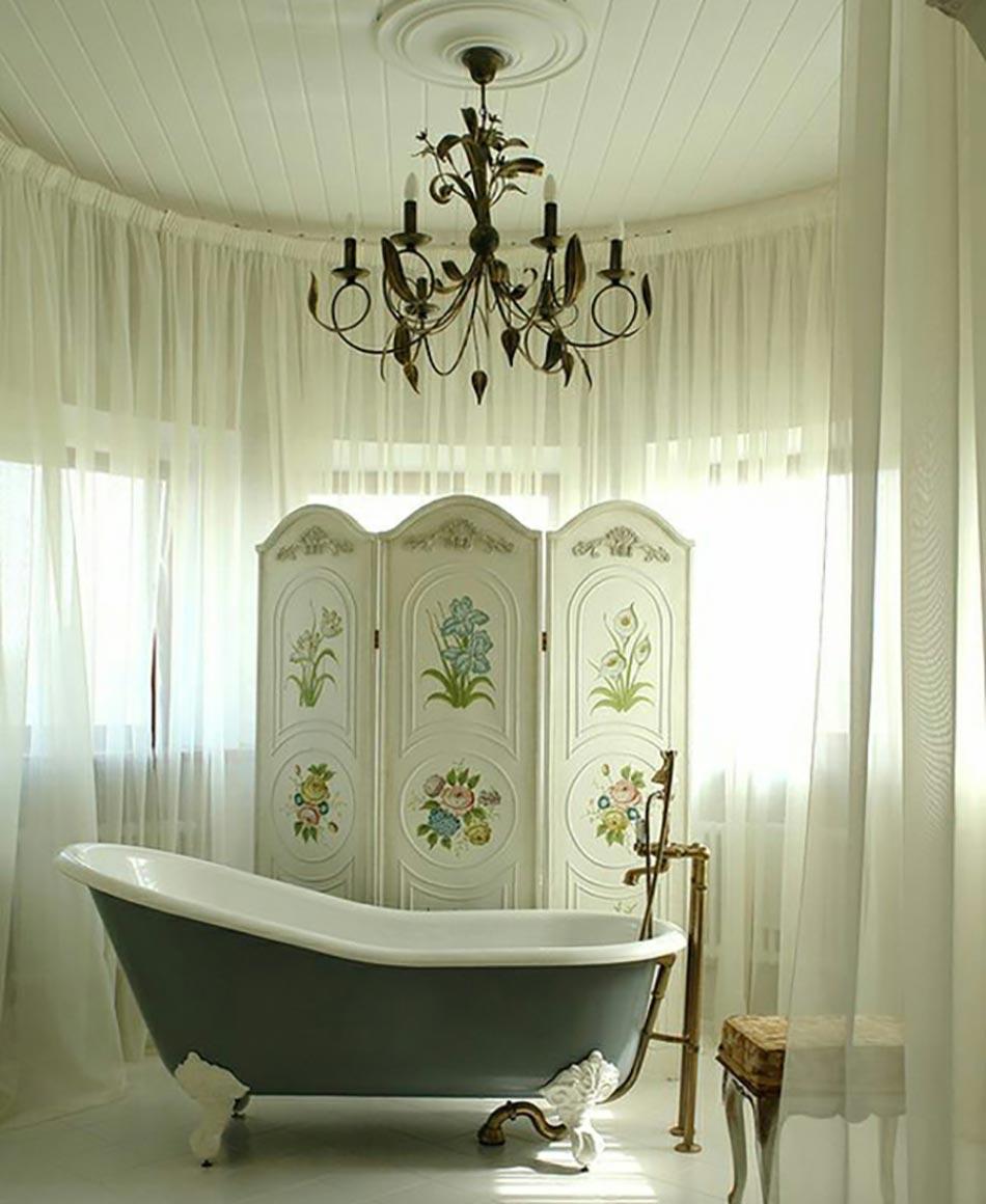 Baignoire style ancien beautiful salle de bain style rtro - Baignoire style retro ...