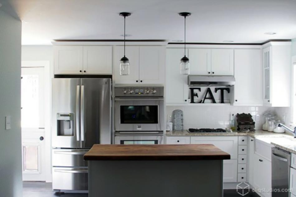 cuisine bois et gris cuisine moderne blanc et bois deitsch cuisines am nagement de - Cuisine Blanc Et Gris