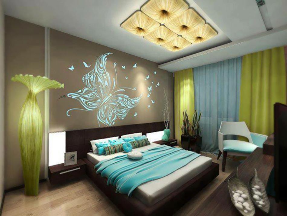 15 d corations couleurs pour une chambre coucher unique for Decoration pour une chambre a coucher