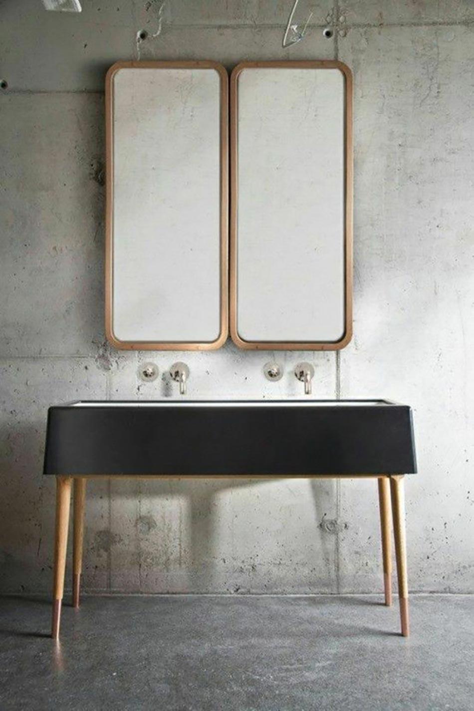 16 id es b ton pour des salles de bain design for Salle de bain epuree