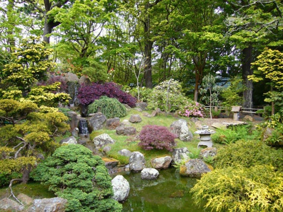 La beaut exotique du jardin japonais - Amenagement jardin japonais ...