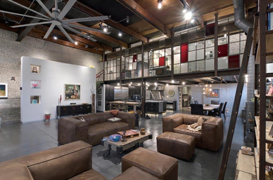 15 s jours anim s par un style industriel contemporain for Deco cuisine style industriel