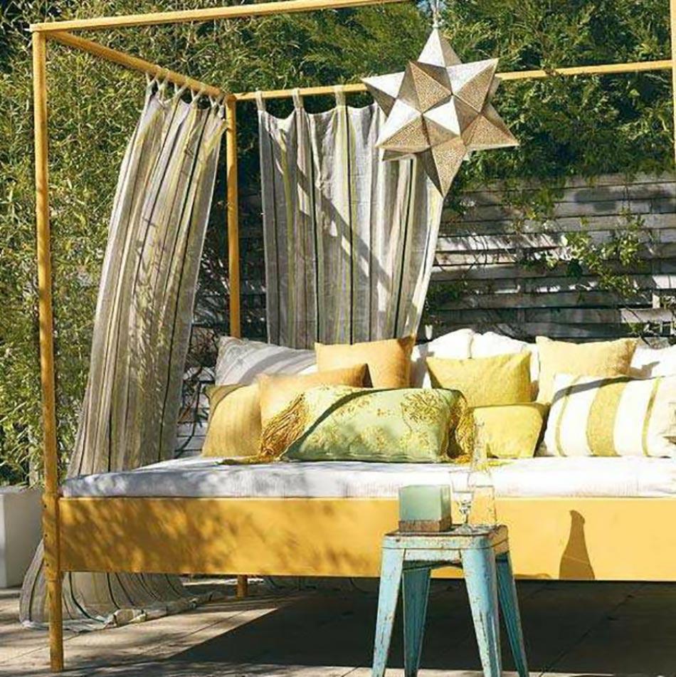 les voiles d ombrage pour embellir notre jardin ou balcon. Black Bedroom Furniture Sets. Home Design Ideas