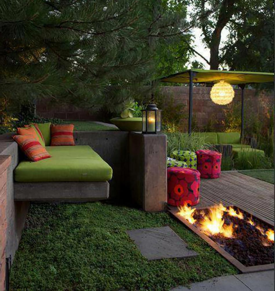 Le patio ou l am nagement ext rieur de ville for Idee deco salon de jardin