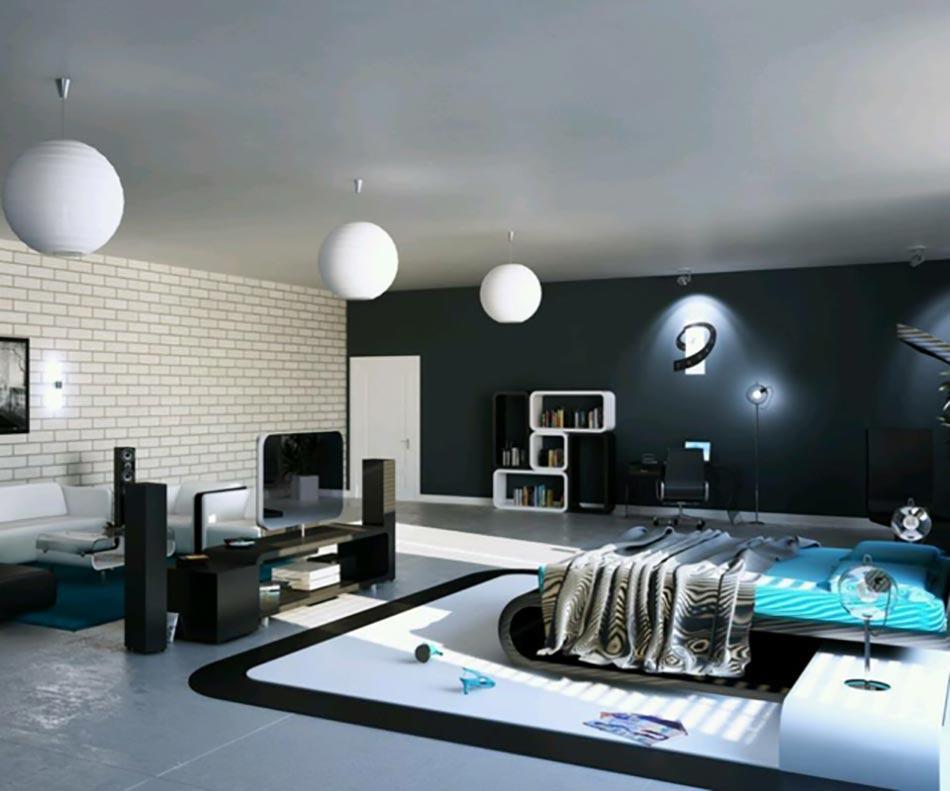 Lumière Sur La Chambre Design Moderne