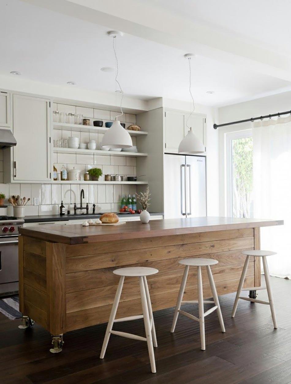 l ilot central le c ur de la cuisine. Black Bedroom Furniture Sets. Home Design Ideas