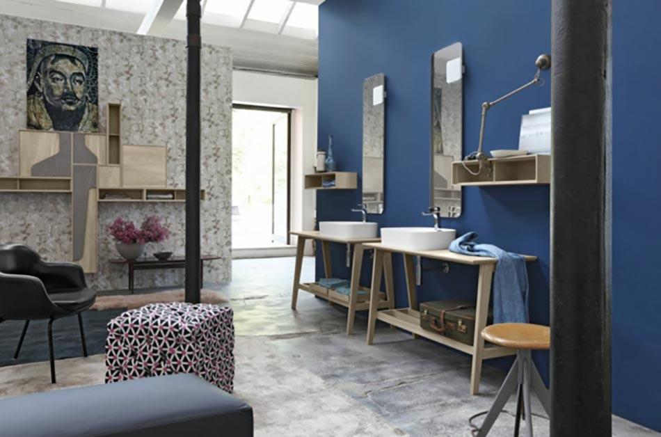 Cerasa ou la salle de bain d une nouvelle g n ration for Salle de bain gris et bleu