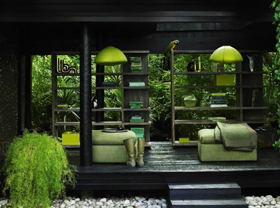 le patio ou l am nagement ext rieur de ville. Black Bedroom Furniture Sets. Home Design Ideas