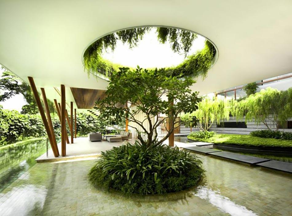 Id es cr atives pour un jardin paysagiste unique design for Idee d amenagement interieur