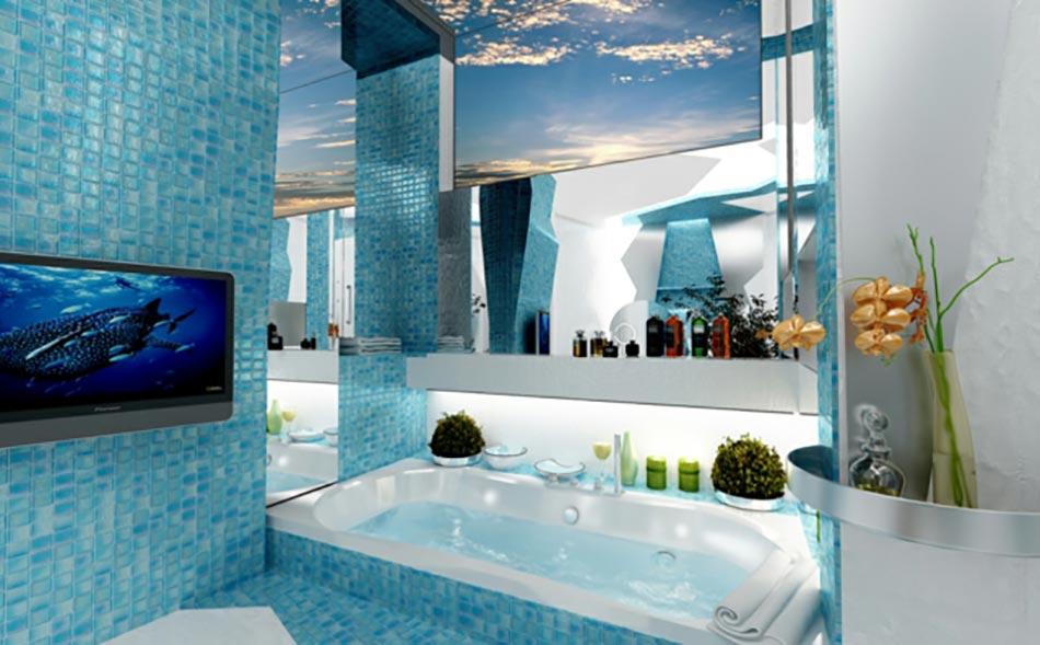 3 concepts de salle de bain qui sortent de l'ordinaire