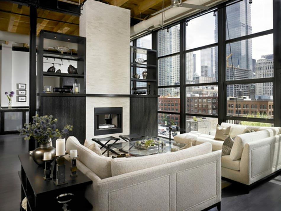 15 s jours anim s par un style industriel contemporain for Create modern home decor kansas city