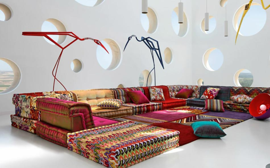Le canap design revisit par roche bobois for Canape original design