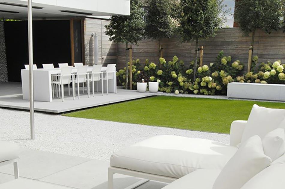 Id es cr atives pour un jardin paysagiste unique design for Jardin moderne epure