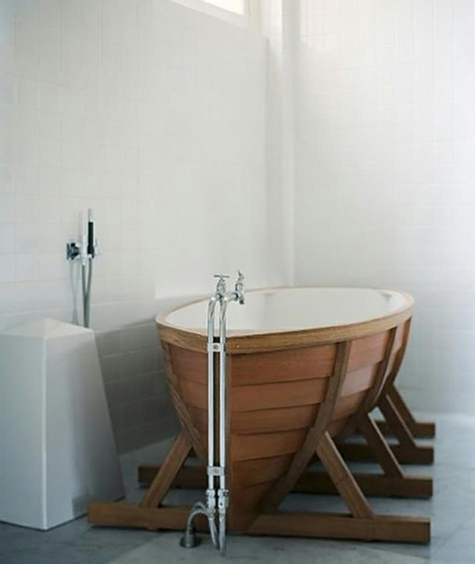 Salle De Bain Au Baignoire   Barque