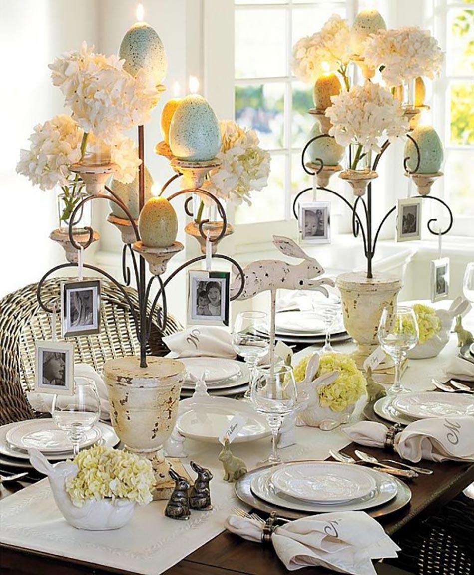 15 id es pour pr parer une jolie table de p ques. Black Bedroom Furniture Sets. Home Design Ideas