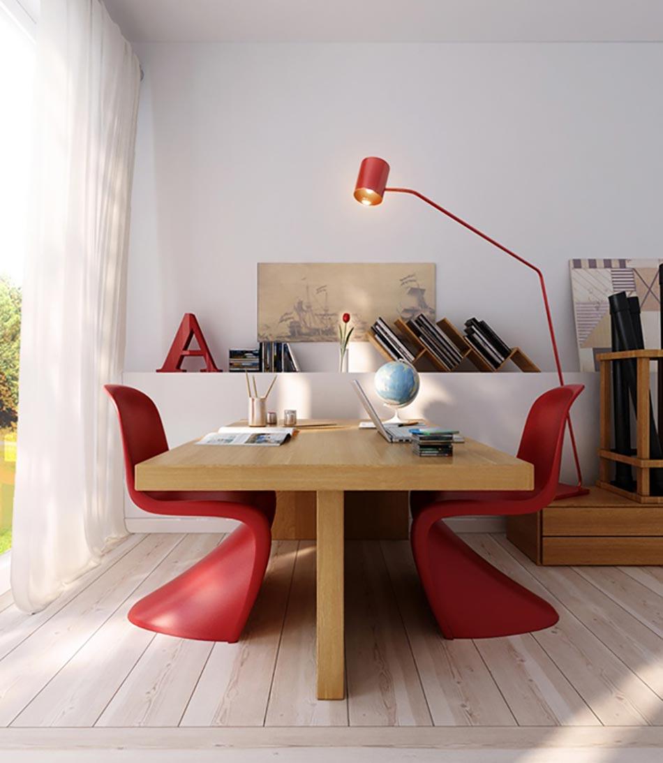 l am nagement du bureau la maison design feria. Black Bedroom Furniture Sets. Home Design Ideas
