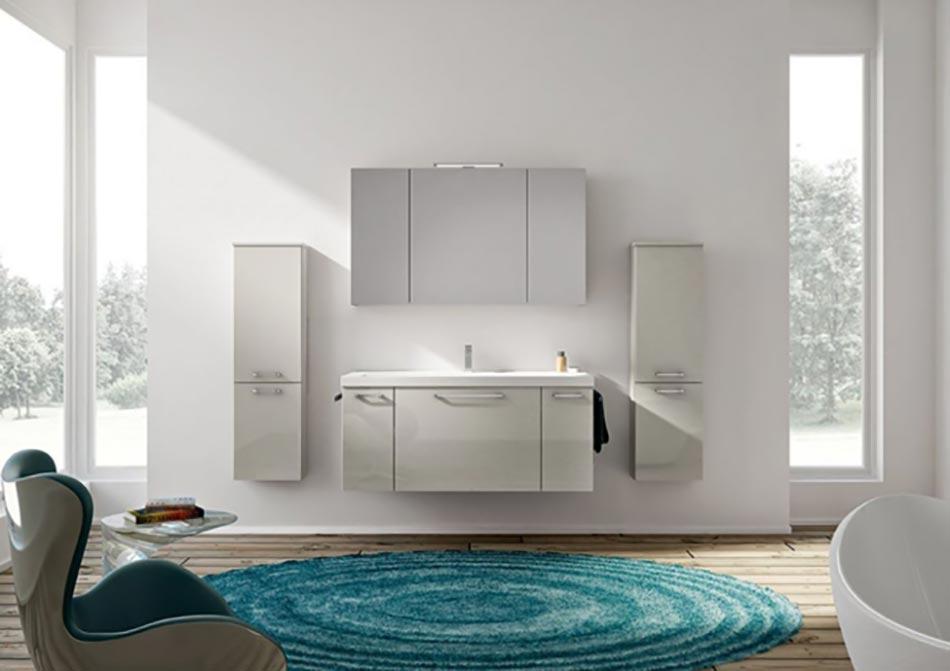 Salle de bain turquoise et blanc avec des for Salle de bain turquoise et marron