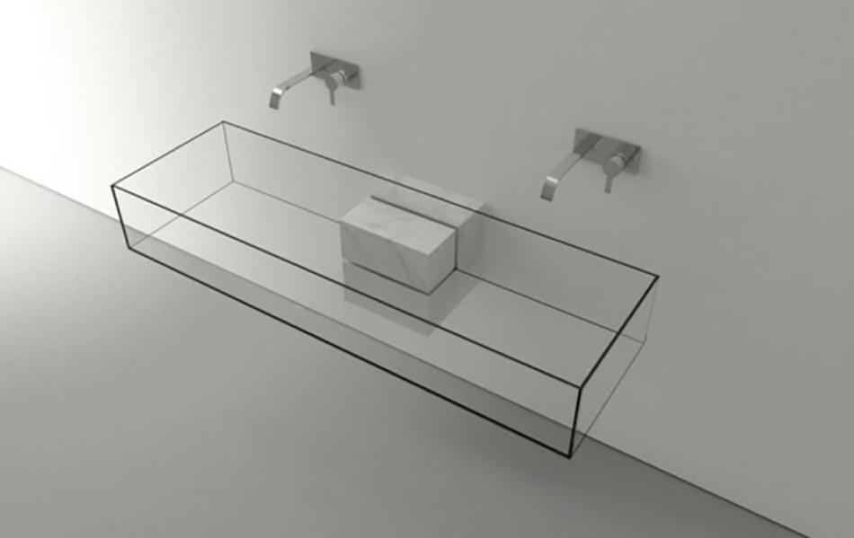 Vasque Transparente Salle De Bain.Vasques Futuristes Et Tres Chics Signees Victor Vasilev