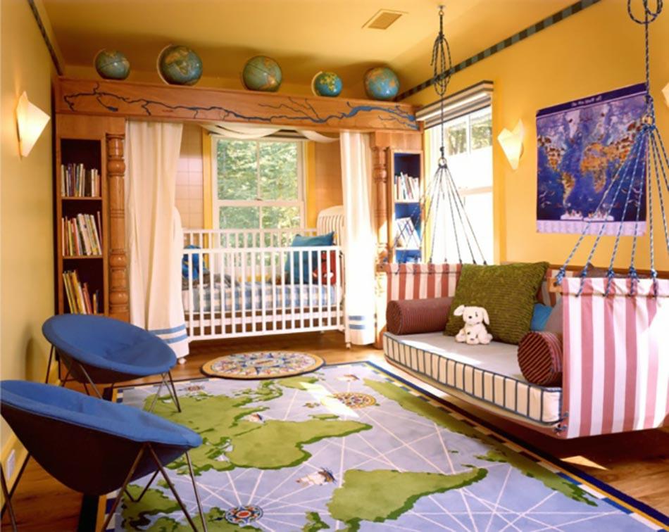 Charmant Thème Découverte Pour Cette Décoration Chambre Enfant