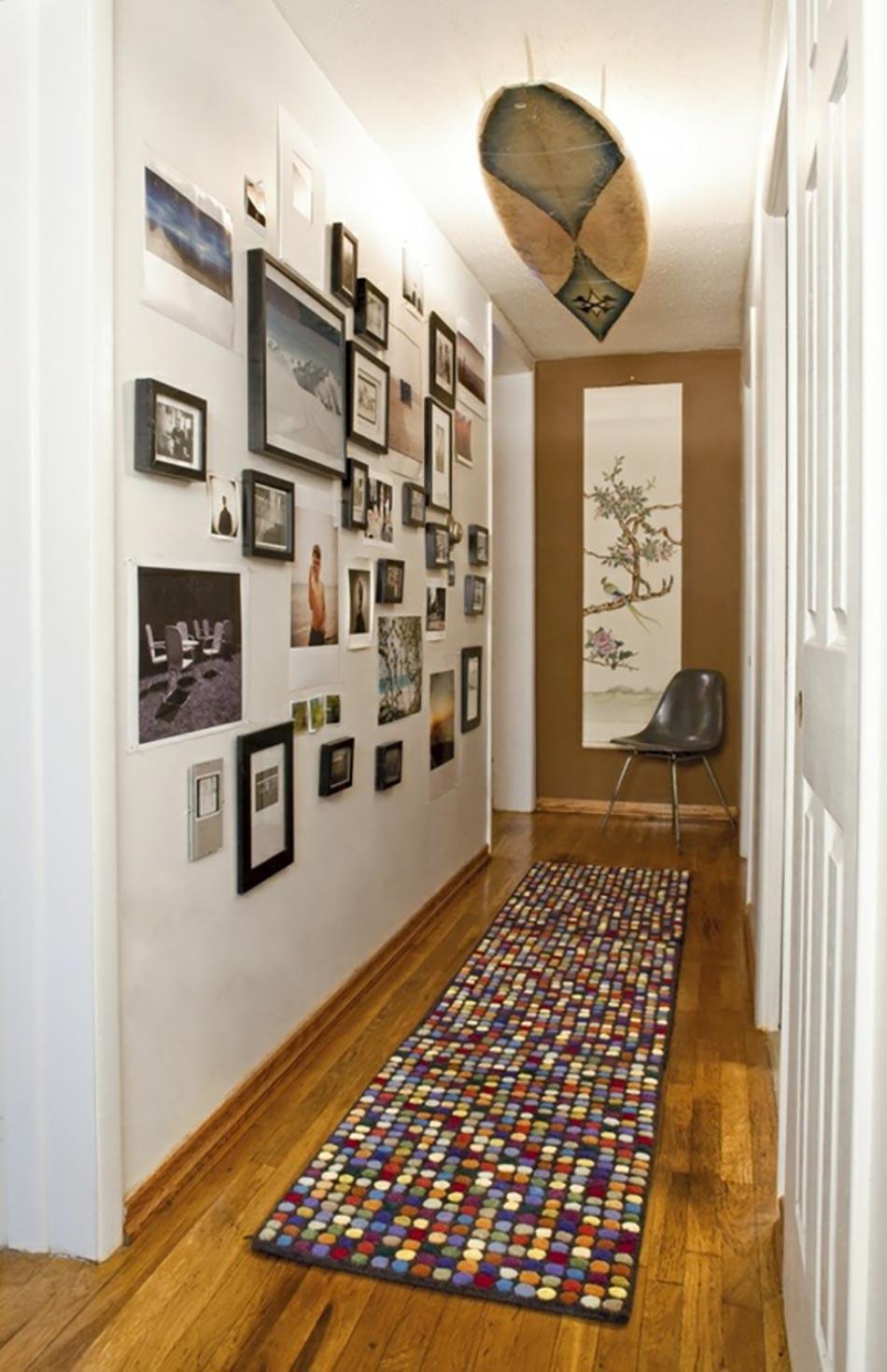 Des id es de d coration pour nos couloirs design feria - Tableau pour deco couloir ...