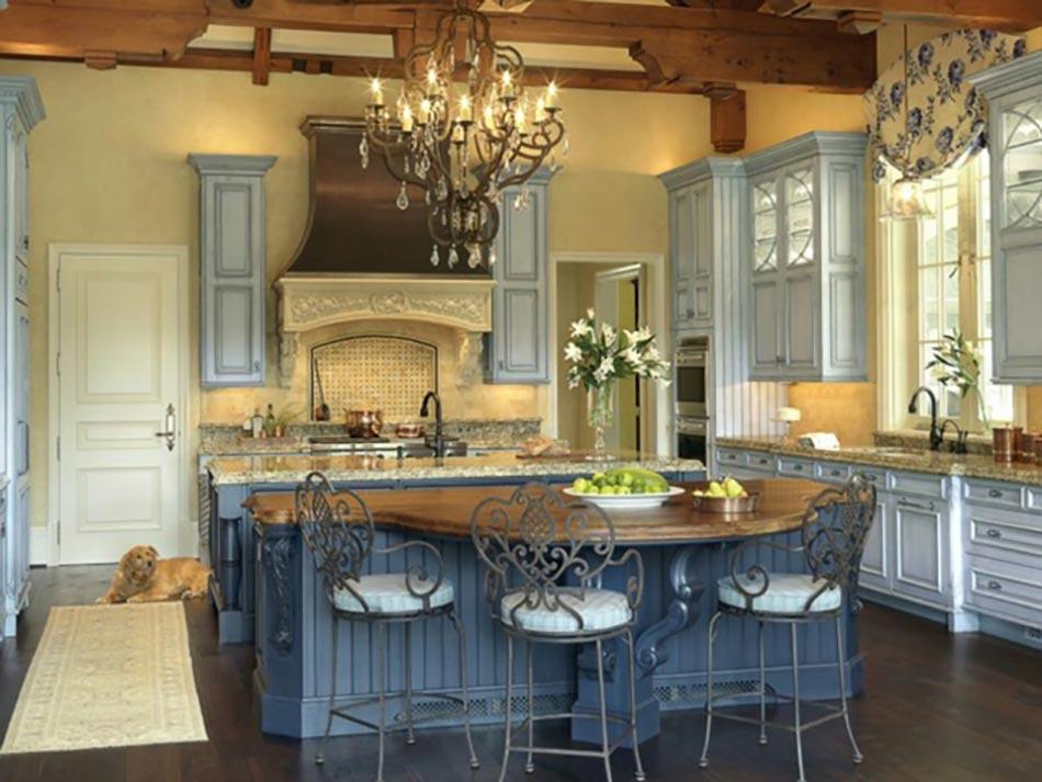 Attrayant Cuisine Moderne Design Bleu