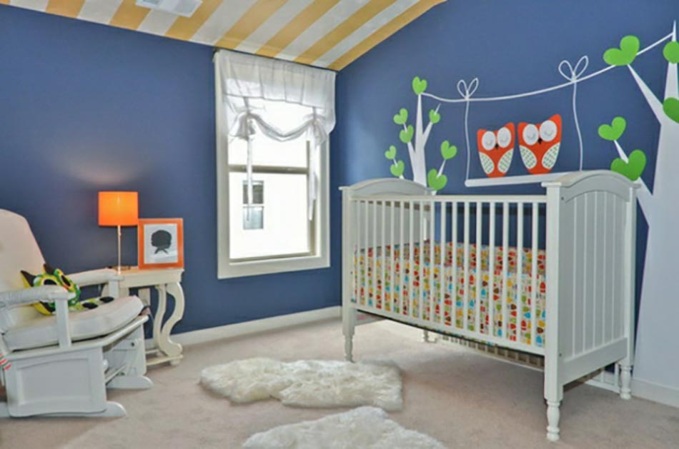 petite chambre bebe stickers muraux pour bien d corer la chambre de b - Petite Chambre Bebe 2