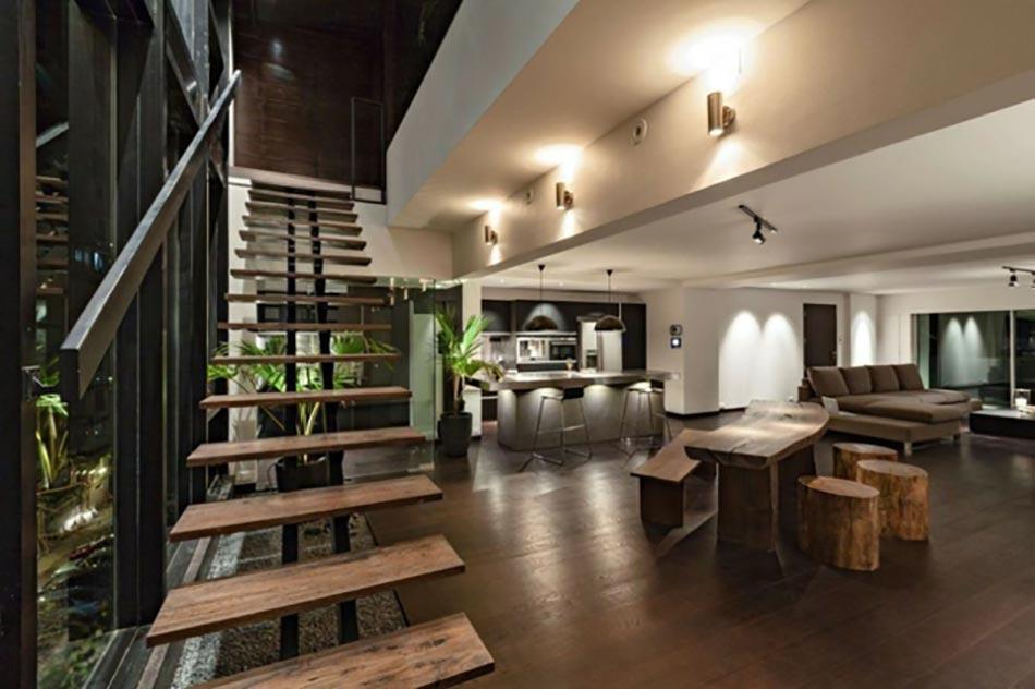 L escalier design ou 18 nouveaut s sinequanone pour un for Amenager escalier interieur