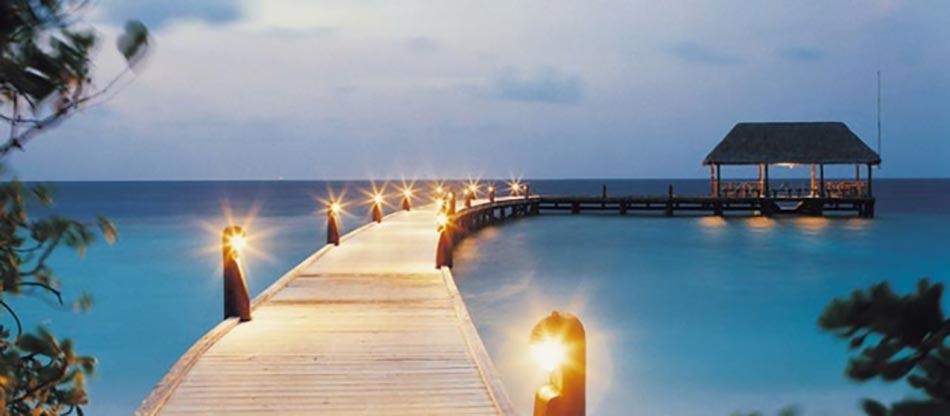 Attrayant Lu0027hôtel Dans La Plus Petite îles Des Maldives