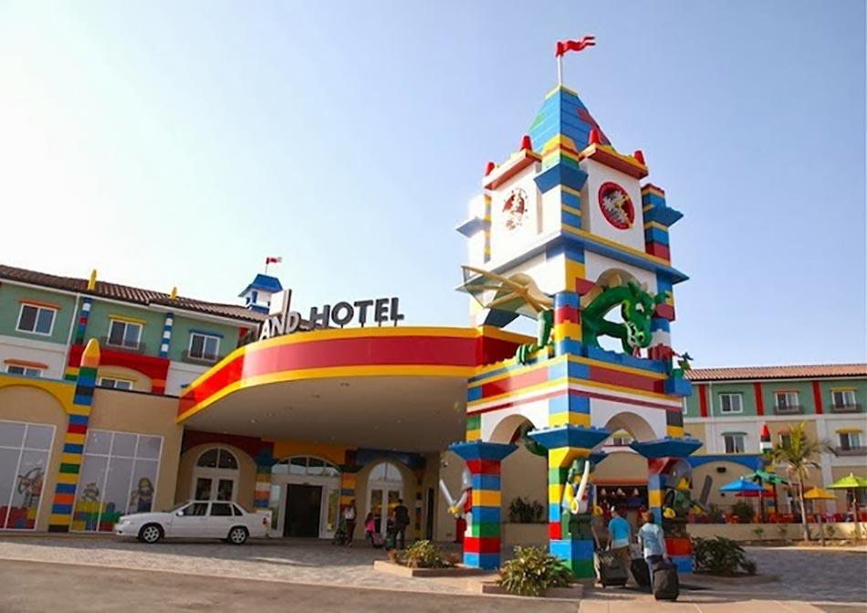 Premier Hôtel Design Lego Aux États Unis