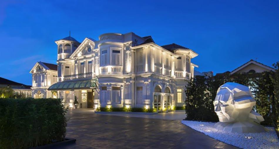 Macalister mansion h tel o luxe exotisme et caract re ne - Interieur hotel de luxe ...