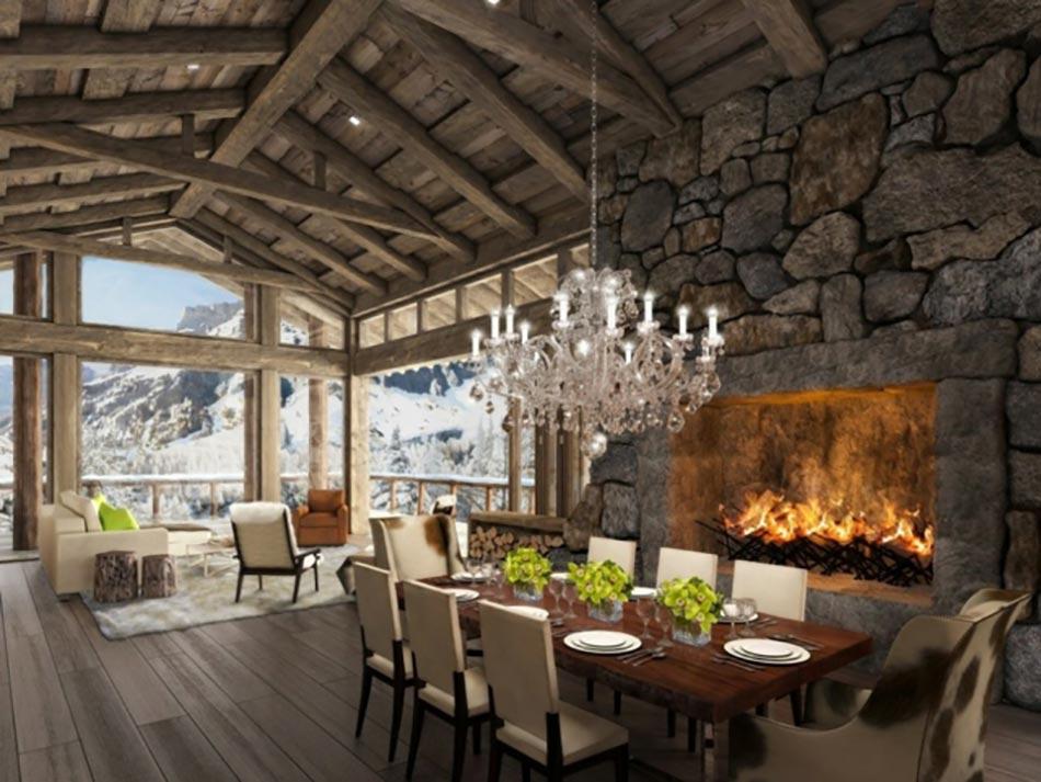 Agreable Hôtel De Luxe Dans Les Alpes Suisses