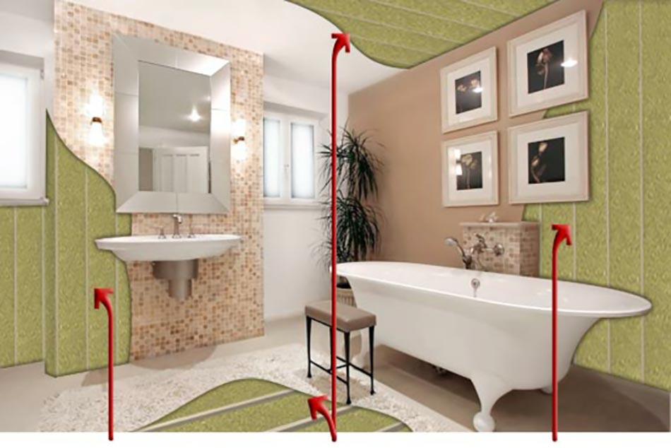 Isoler une fenêtre dans la salle de bain | Design Feria