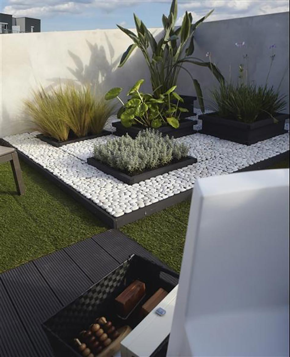 Id es cr atives pour un jardin paysagiste unique design for Ideas decorativas para patios