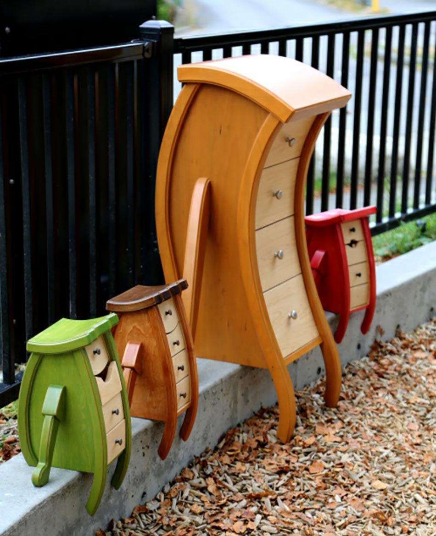 Chambre d enfant raviv e par des meubles uniques - Erreurs que pratiquement tout le monde fait en design dinterieur ...
